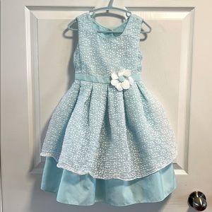 Jona Michelle light blue daisy flower dress 4
